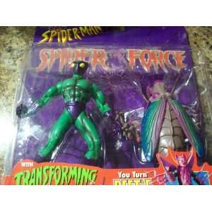 Beetle Figure Spiderman Spiderforce Collection Toys & Games