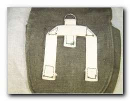 WW2 Soviet Red Army PPSch 41 ammo pouch. Early model.
