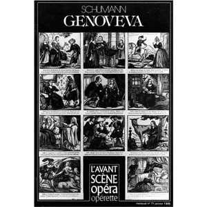 genoveva (9782843850554) Robert Schumann Books