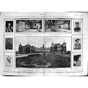 1900 MARQUIS SALISBURY ROBERT ARTHUR TALBOT LORD CECIL