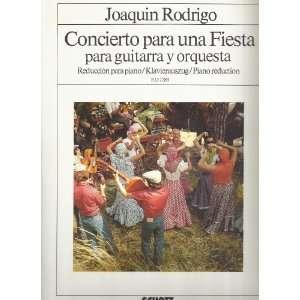 1982) (Reduccion para piano/Piano Reduction) Joaquin Rodrigo Books