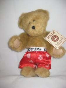 Boyds Bears Plush Teddy Bear Woody Orig Tag 12P36 Stuffed Animal Toy