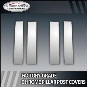 07 12 Chevy/Gmc Ext/ Crew Cab 4Pc Chrome Pillar Post