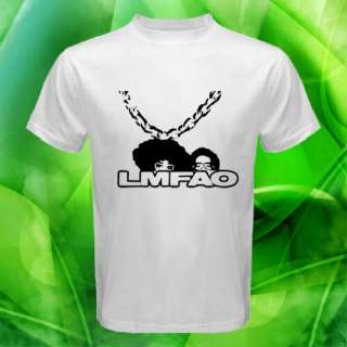 LMFAO GOLD CHAIN men t shirt S M L XL XXL XXXL