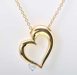 Hearts on Fire 18K Yellow Gold Diamond Heart Pendant