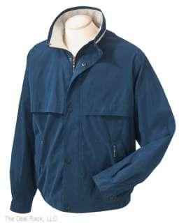 Harvard Square Mens Full Zip Fleece Jacket Any Sz/Color