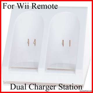 USB Charger dock Station for Nintendo Wii Remote Control/Controller