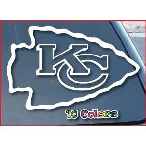 Kansas City Chiefs Car Window Vinyl Decal Sticker 5 Wide