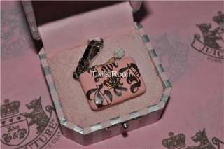 Juicy Couture PINK LAPTOP COMPUTER CHARM BRAND NEW AUTHENTIC