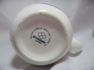 Otagiri Made in Japan Porcelain Cat Kitten Kitty Mug cup