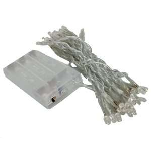 White 30 LED String Lights Battery Operated XMAS Christmas