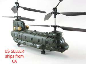 Syma S022 Chinook Army Helicopter CH 47 LRG S026 RC 3 CH Radio Remote