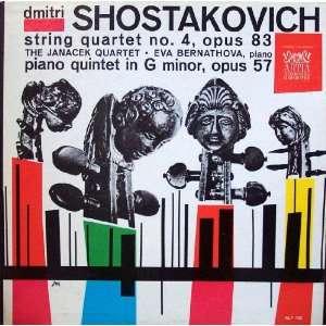 Shostakovich String Quartet No. 4, Opus 83 and Piano Quintet in G