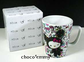 Sanrio Hello Kitty Tokidoki Best Friends Ceramic Mug NEW