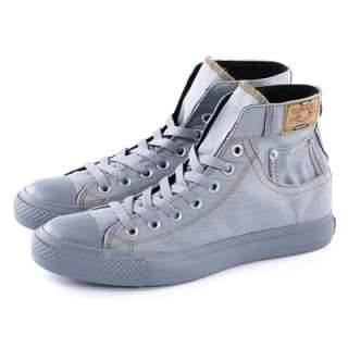 US Size 6 11 New Mens Canvas Fashion Lace Up Boots Sneaker Shoes 4