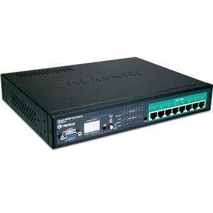 TRENDnet, 8 Port Gigabit Web Smart PoE S (Catalog Category