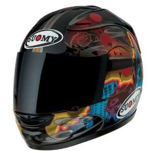 Suomy Spec 1R Dark City Small Full Face Helmet Automotive