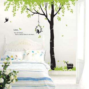 DIY Removable Tree and Birds Vinyl Room Wall sticker Art Papers Decal