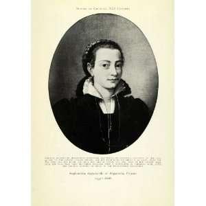 1905 Print Self Portrait Sophonisba Anguisciola Angussola