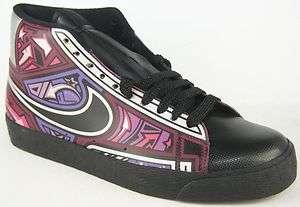 NIKE BLAZER HIGH Mens Purple Basketball Shoes Size 11 New in Box