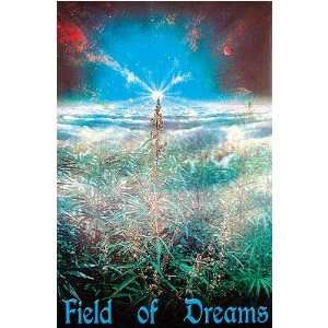 MARIJUANA POSTER FIELD NEW HEMP WEED POT T LEAF ST2109xxx