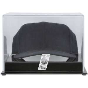 Trail Blazers Acrylic Team Logo Cap Display Case