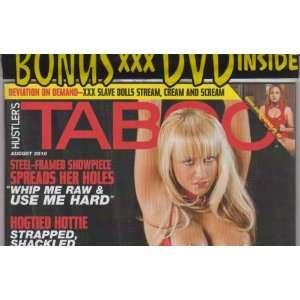 August 2010: Editors of Hustlers Taboo Magazine:  Books