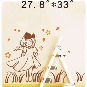 Large  Easy instant decoration wall sticker decor  spring