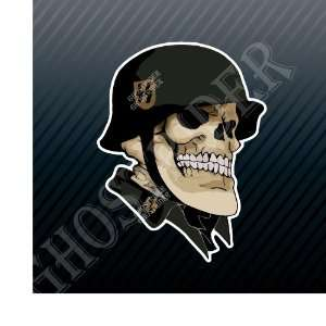 German Soldier Skull Army Military Forces Car Trucks