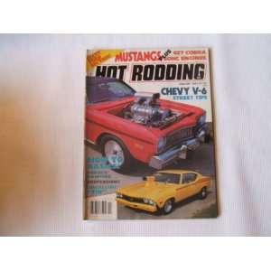 Popular Hot Rodding January 1982 (GIANT FORD SECTION HOW