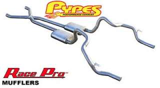 Pypes Performance Exhaust SGF11R   Pypes Race Pro Dual Exhaust System