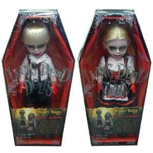Living Dead Dolls Scary Tales 3 Hansel & Gretel Set Of 2