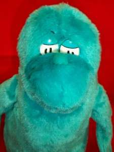 Dr Seuss Character From One Fish Two Fish Book Turquoise Blue 12 Tall