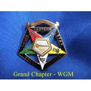 OES Order Eastern Star Worthy Grand Matron Jewel