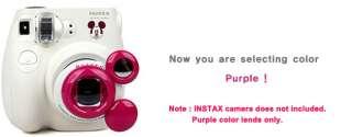 Mickey Mouse Close Up Lens Self shot Mirror Fuji Instax Mini 7s(Purple