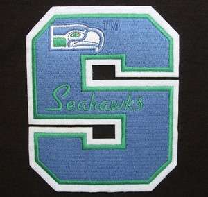 SEATTLE SEAHAWKS 5 LETTER NFL FOOTBALL LOGO PATCH