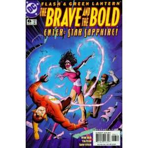 Green Lantern #6 The Brave and the Bold Enter: Star Sapphire!: Books