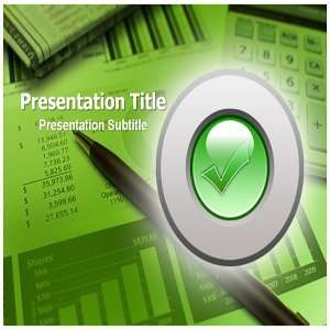 Check up Plan Powerpoint Templates   Check Up Plan Backgrounds for
