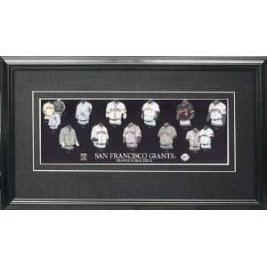 Framed San Francisco Giants 5x15