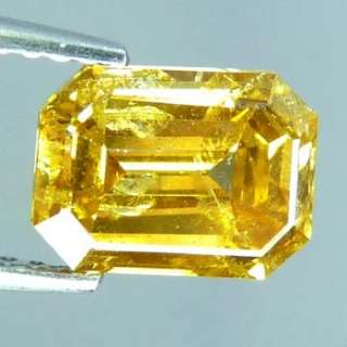 Hi End Superb Fire 2.02Cts 100%Natural Fancy Golden Yellow Earthmined