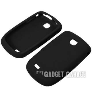 Silicone Gel Skin Cover Case LCD Guard For Samsung Dart