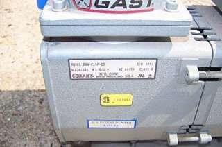 GAST VACUUM PUMP MODEL # DAA P149 ED 230 VAC