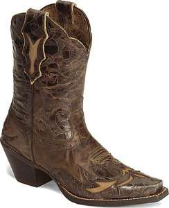 NIB Womens Ariat 10008780 Western Dahlia Brown Cowboy Boots