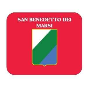 Italy Region   Abruzzo, San Benedetto dei Marsi Mouse Pad