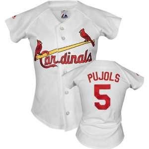 Albert Pujols Majestic Replica St. Louis Cardinals Womens