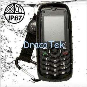 Rugged and robust IP67 grade waterproof dual SIM cell phone