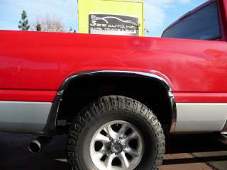 Dodge Ram Stainless Steel Fender Trim by Chrome Accessories