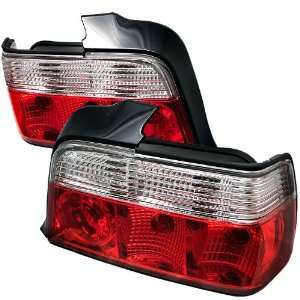 com Spyder Auto ALT YD BE3692 4D RC Red Clear Tail Light Automotive