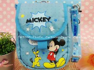 Mickey Mouse DC Digital Camera Case Bag w/ Lanyard 1973