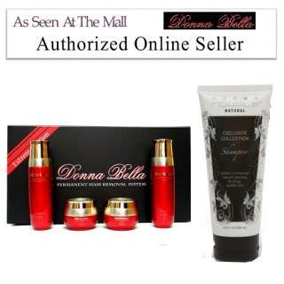 Donna Bella Cosmetics Hair Removal + Royale Shampoo
